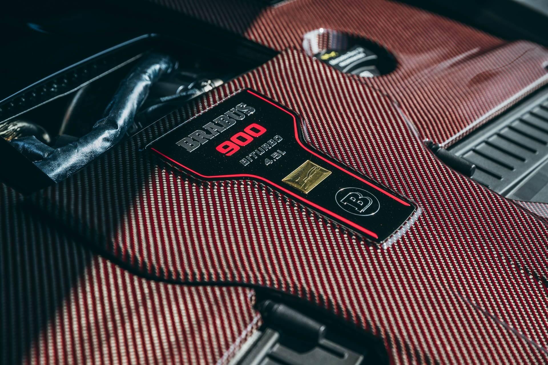 Mercedes-AMG GLE 63 S Coupe feito pela Brabus. Foto: Divulgação