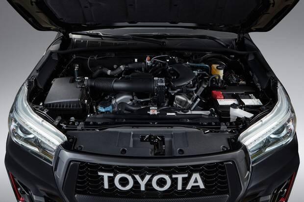 Toyota Hilux V6. Foto: Divulgação
