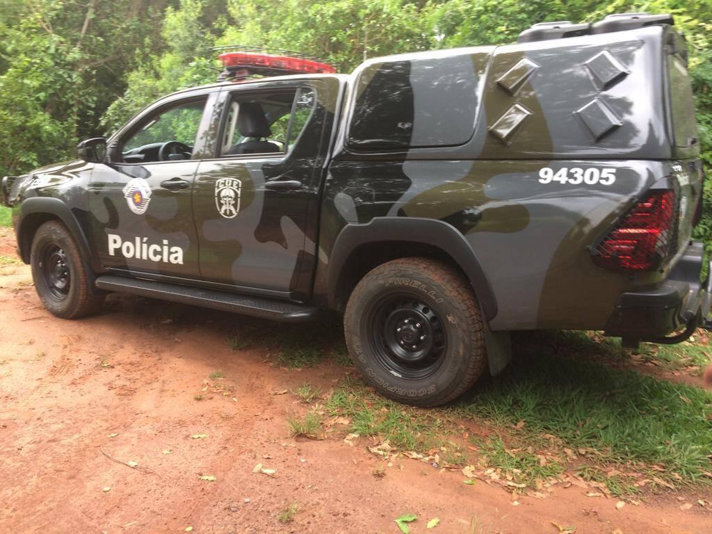 Viatura do COE usada nesta ocorrência. Foto: Divulgação/COE-PMSP