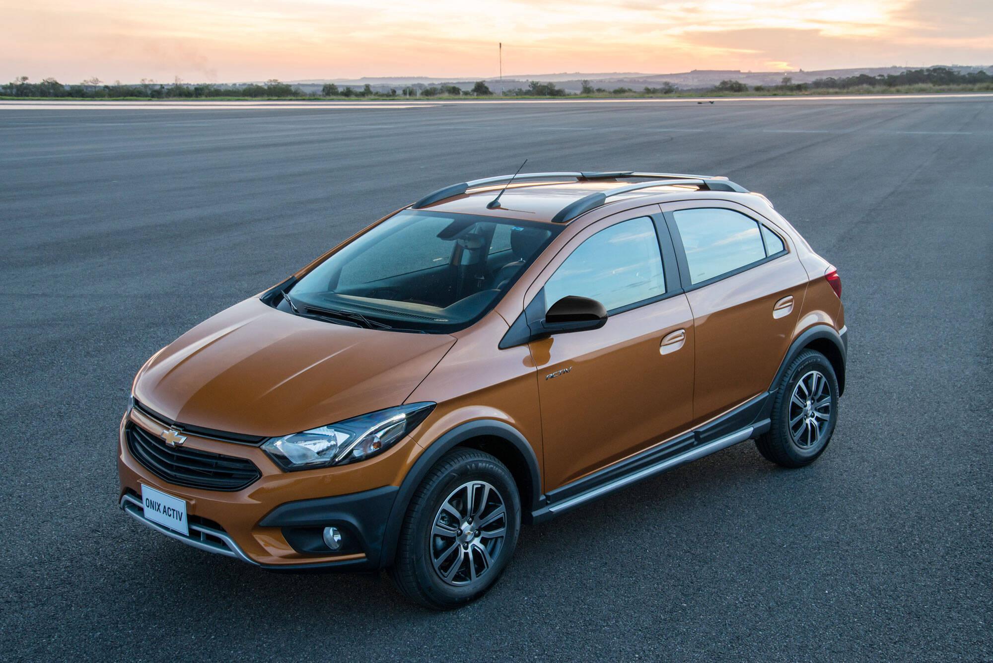 Chevrolet Onix Activ. Foto: Divulgação
