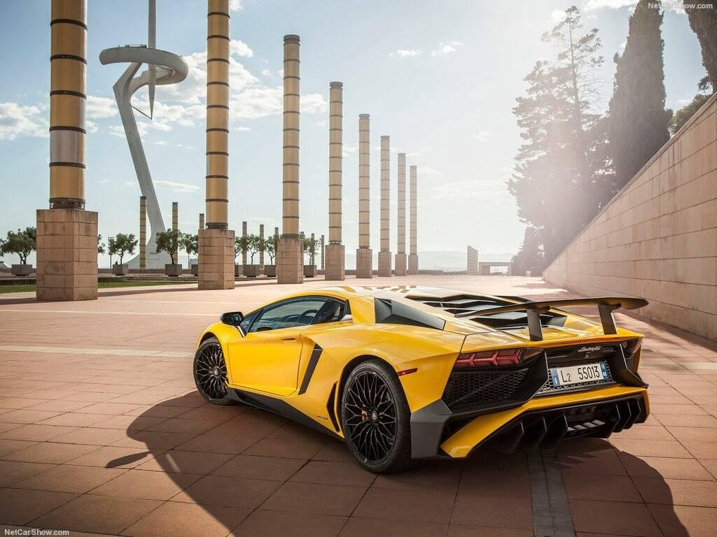 Lamborghini Aventador SV. Foto: Divulgação