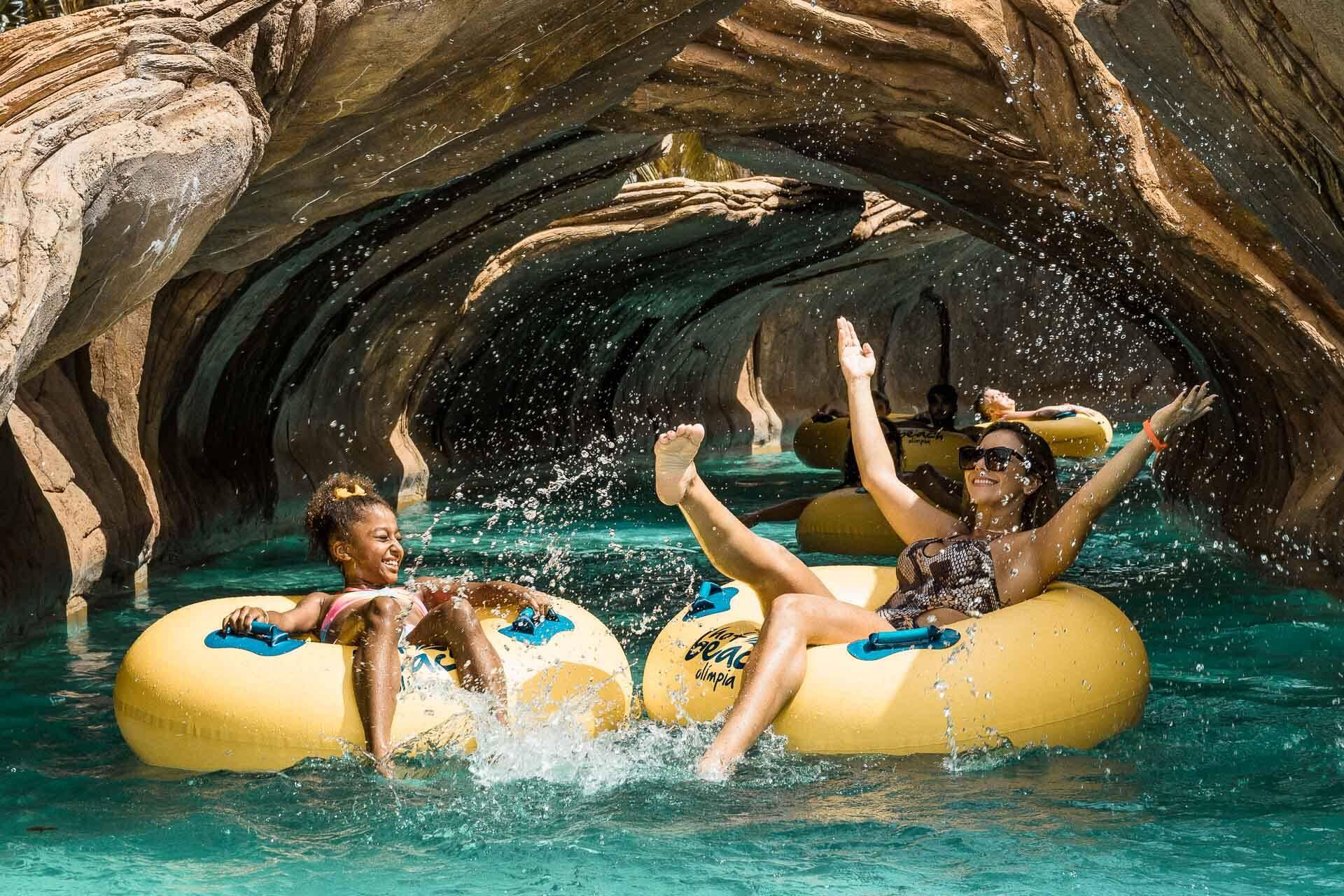 Hot Beach é mais um parque aquático em Olímpia com atrações para públicos de diversas idades. Foto: Reprodução/Facebook/Hot Beach Olimpia