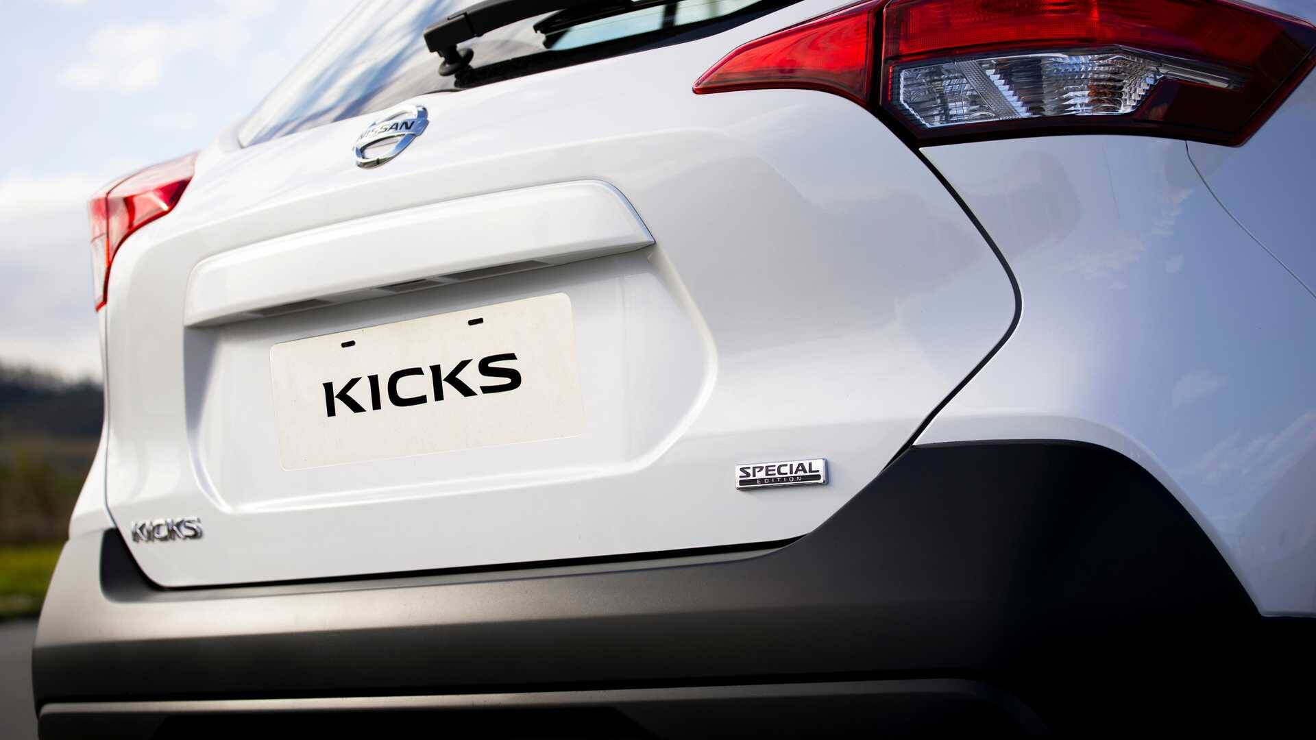 Nissan Kicks Special Edition. Foto: Divulgação