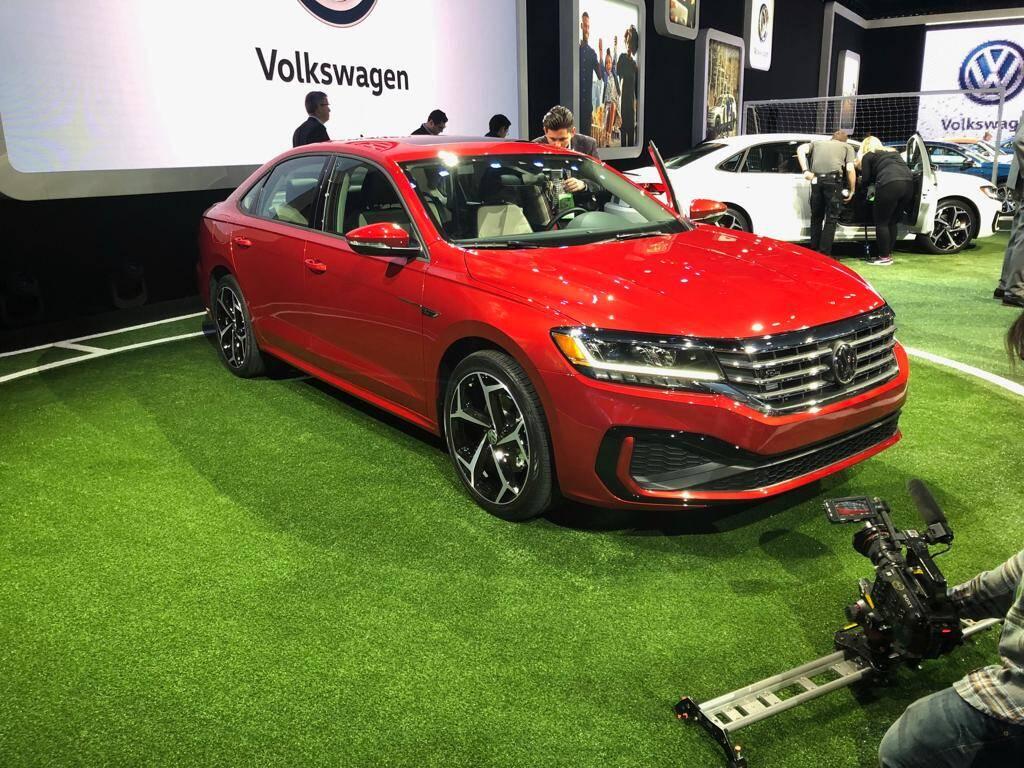 Nova geração do VW Passat americano. Foto: André Jalonetsky/iG