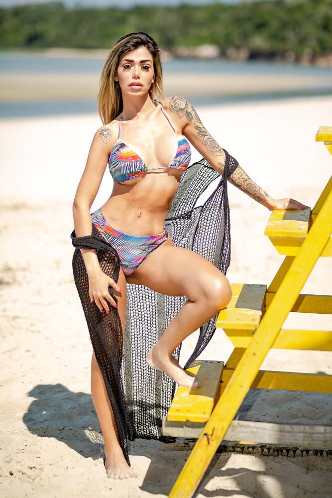 Jéssica quer quebrar recorde de Nubia Oliiver na Revista Sexy. Foto: Fotos: Daniel Céspedes / M2 Mídia
