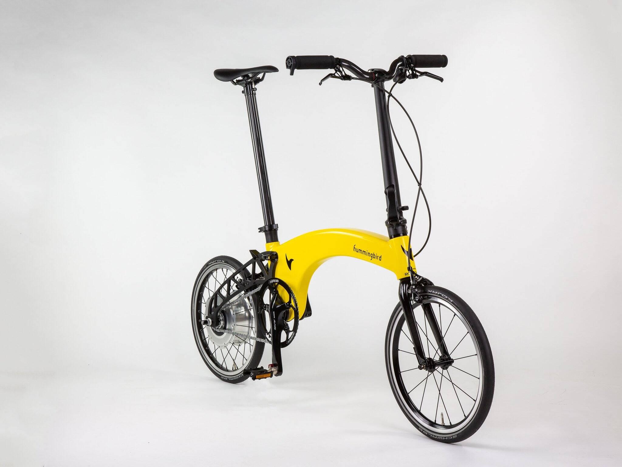 Bicicleta eletrica Electric Gen 2.0 pode ser dobrada, guardada ou levada para qualquer lugar.. Foto: Divulgação