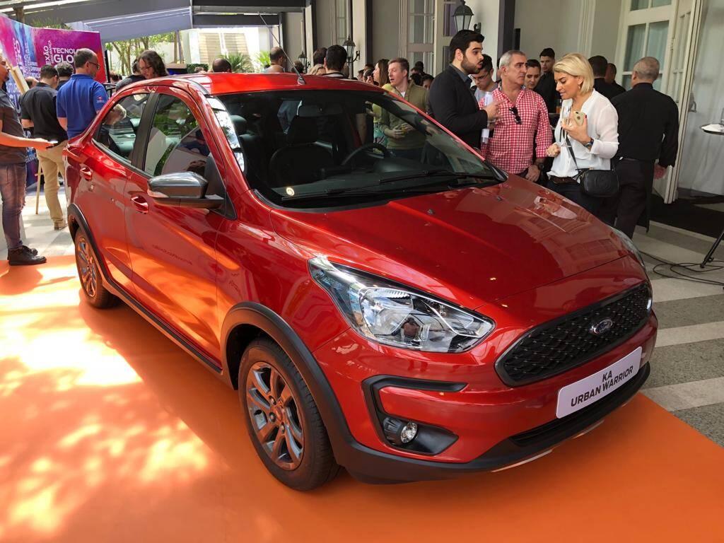 Ford mostra suas novidades no Salão do Automóvel 2018. Foto: André Jalonetsky/iG