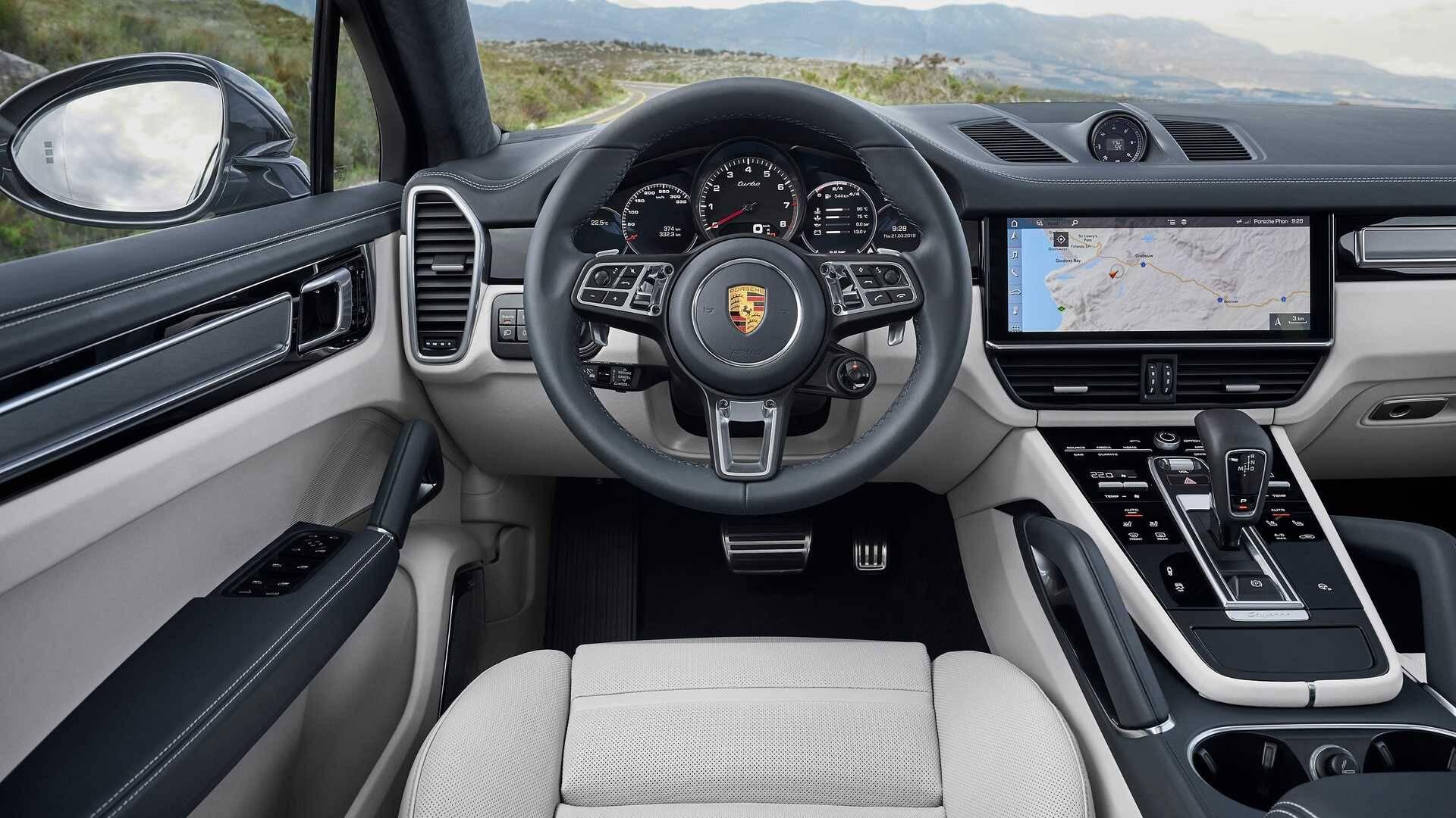 Porsche Cayenne cupê. Foto: Divulgação