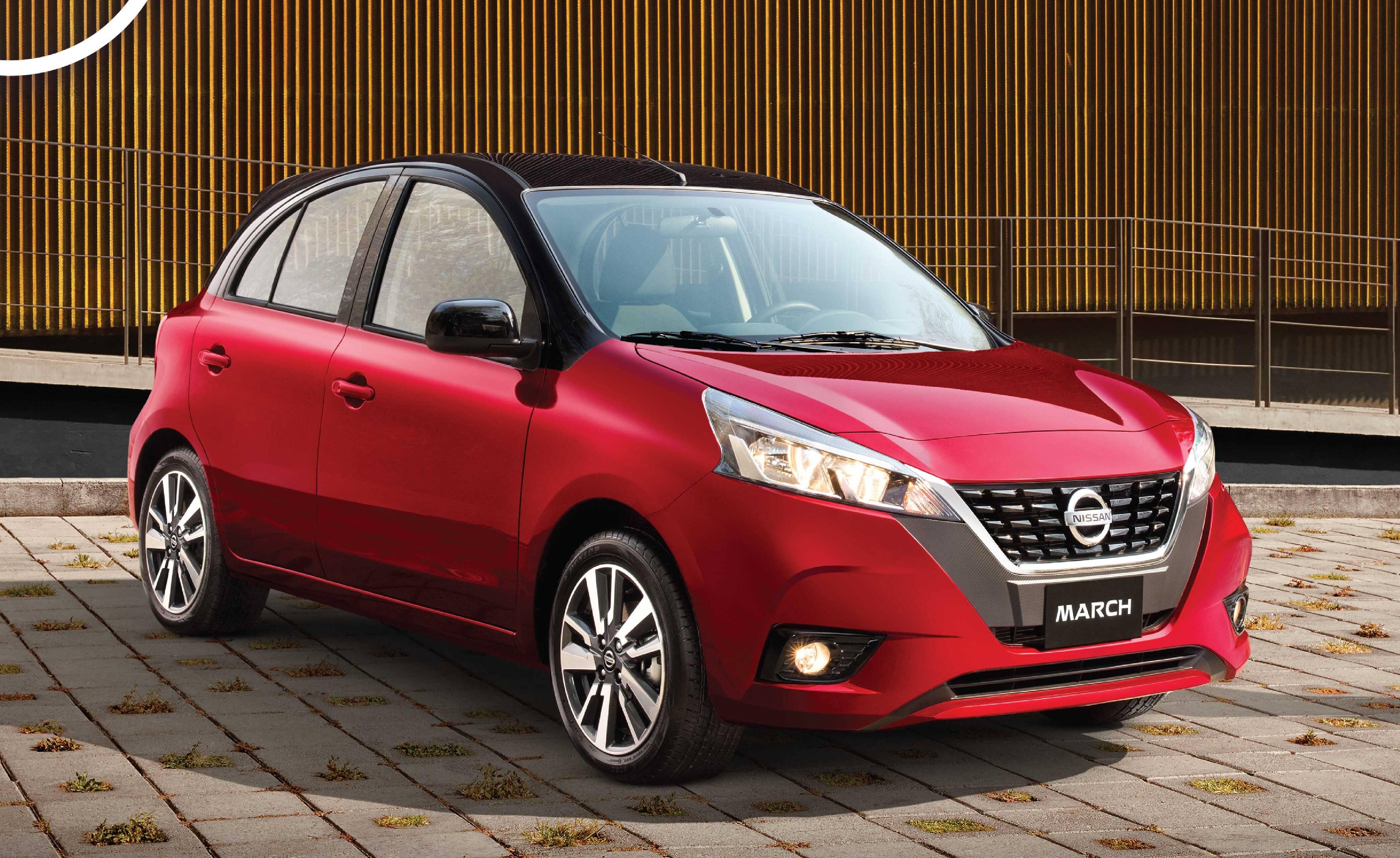 Nissan March mexicano estreia novo visual e novos equipamentos de segurança. Foto: Divulgação