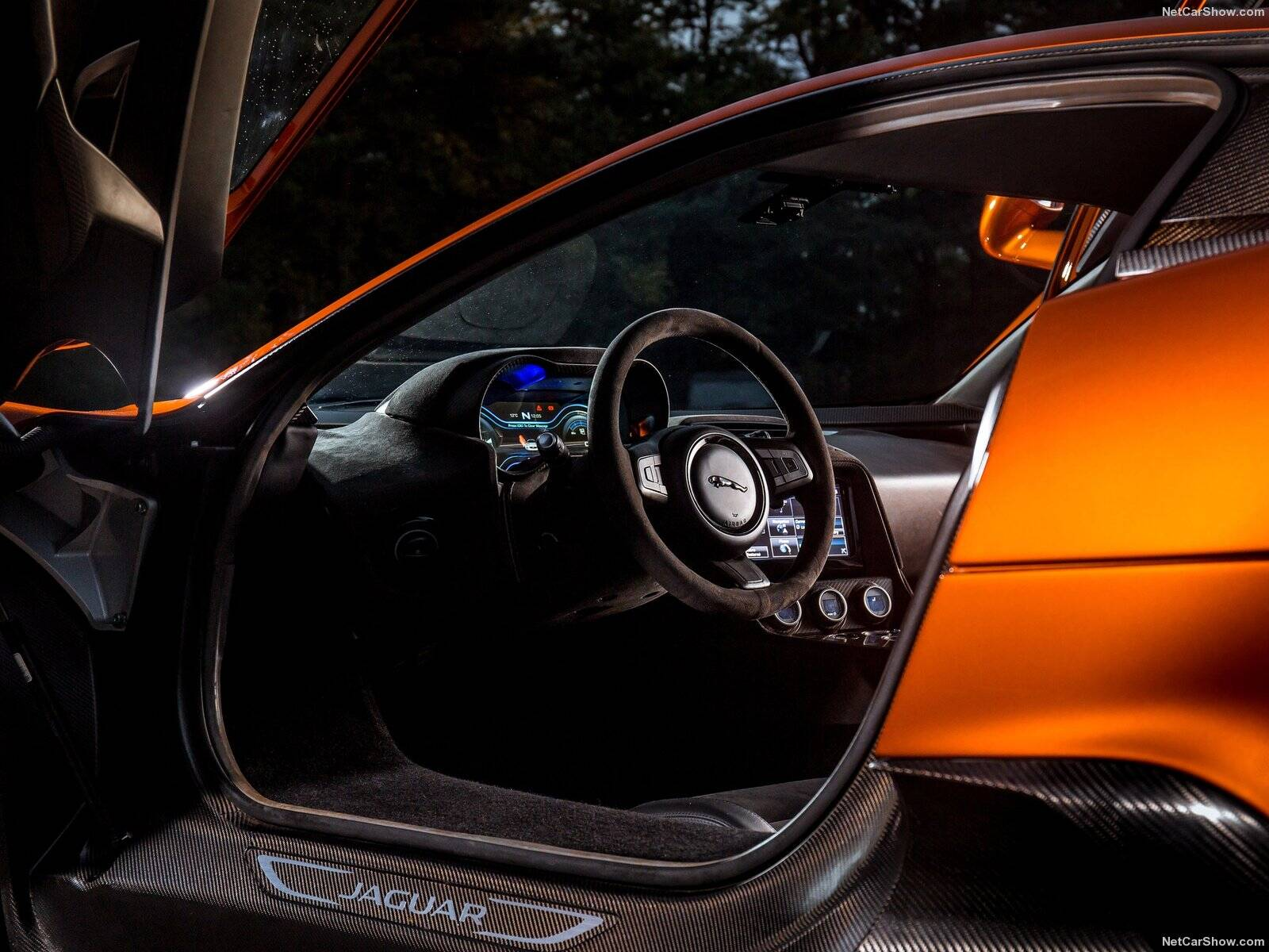Jaguar C-X75. Foto: Divulgação