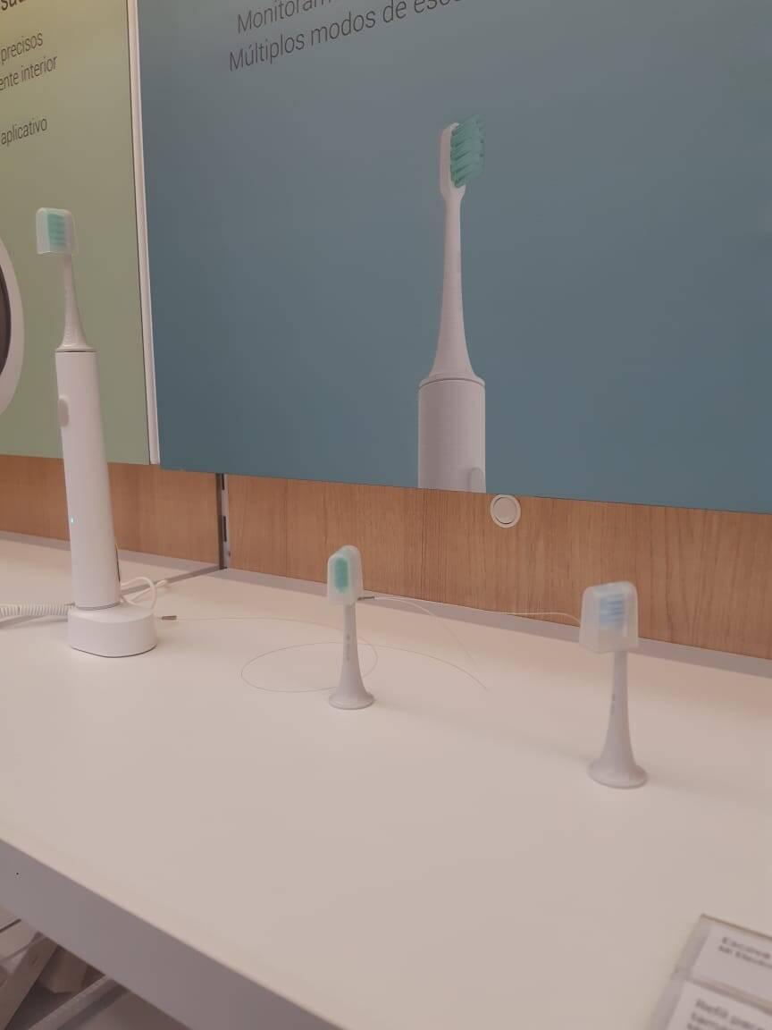 Escova de dente elétrica Xiaomi. Foto: Marina Teodoro/iG Tecnologia