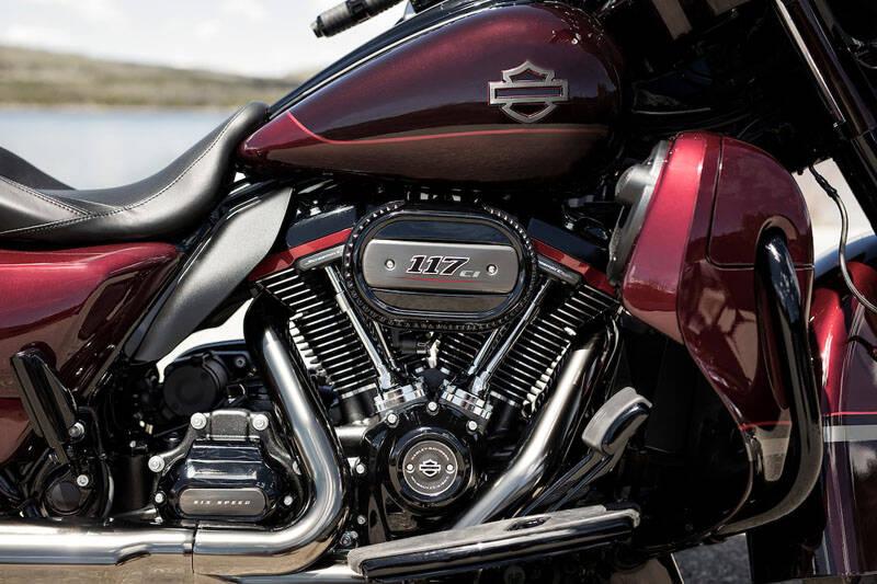 Harley-Davidson CVO Limited. Foto: Divulgação