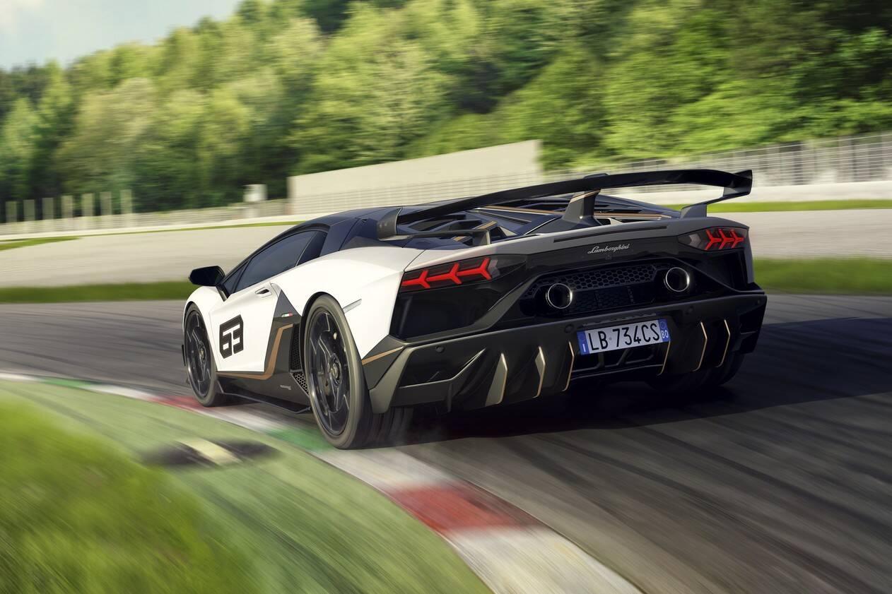 Lamborghini Aventador SuperVeloce Jota. Foto: Divulgação