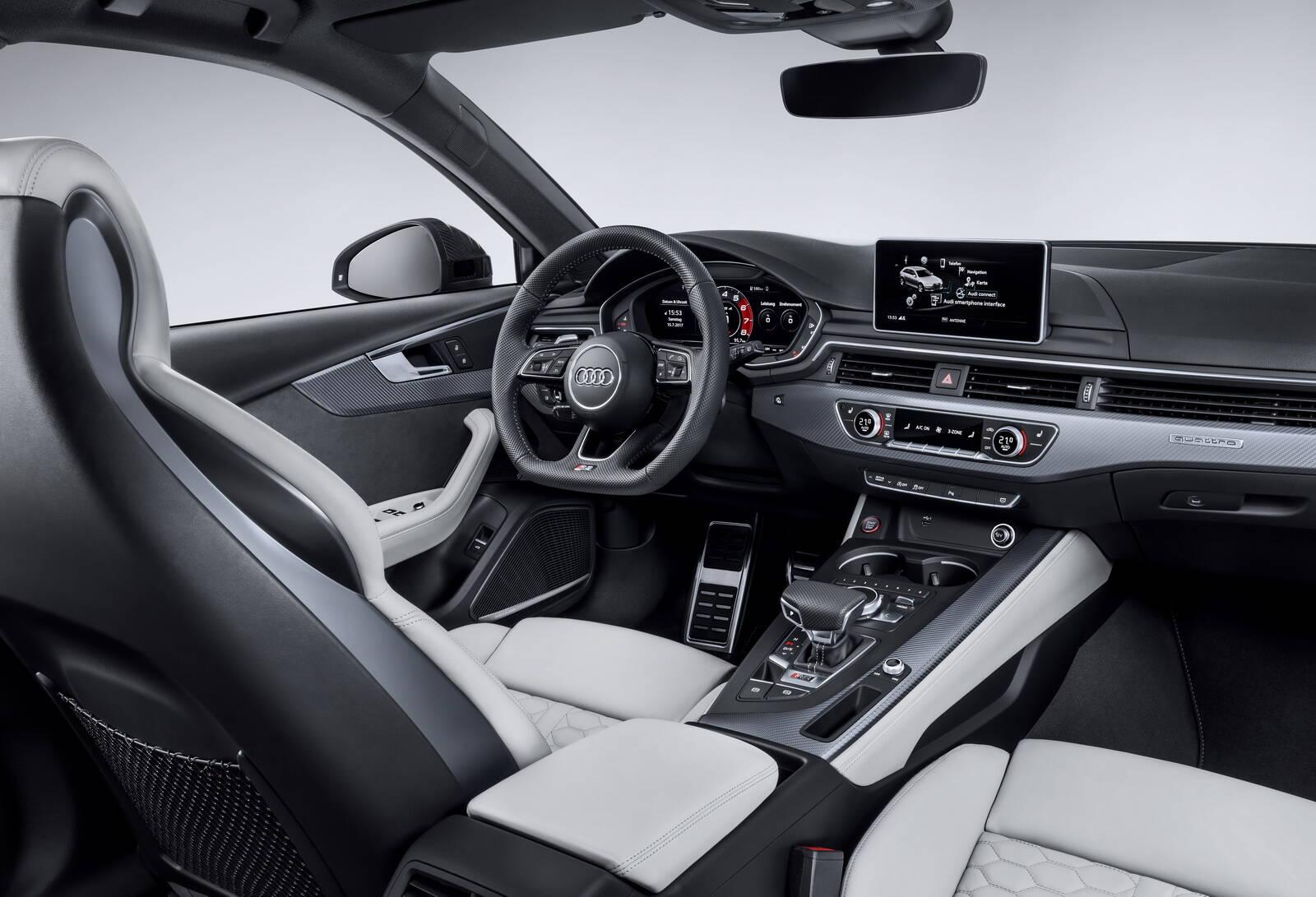 Audi RS4. Foto: Divulgação