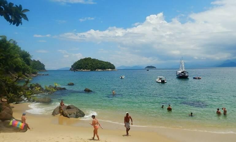 Até março de 2022, apenas 177 podem visitar a ilha por vez; por isso, chegue cedo!. Foto: Reprodução/Prefeitura de Ubatuba