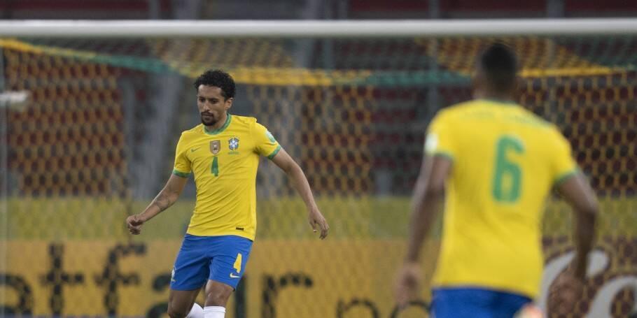 Brasil x Equador. Foto: Lucas Figueiredo / CBF