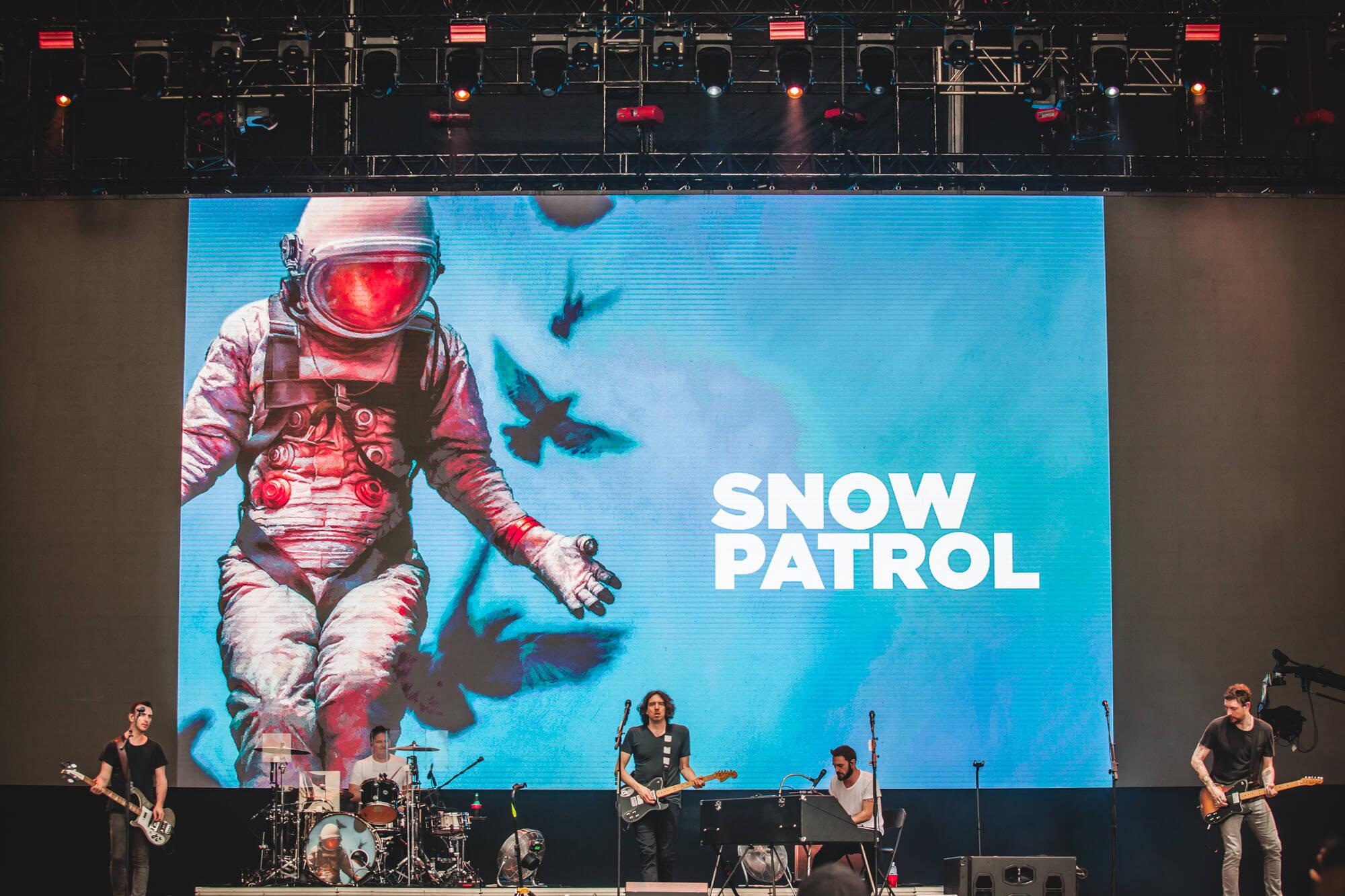 Snow Patrol - Lollapalooza 2019. Foto: Divulgação