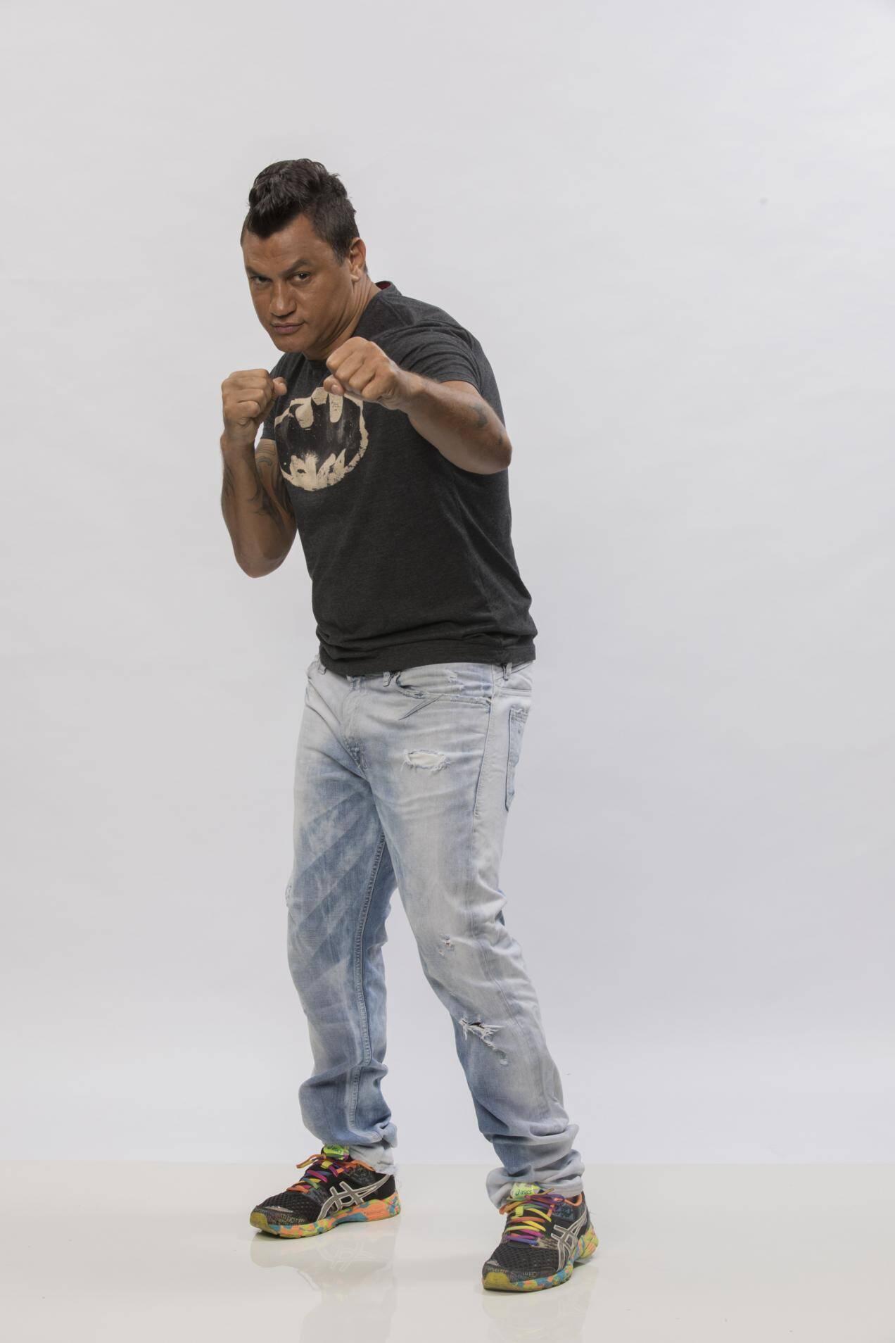 """Acelino Popó Freita, conhecido como """"Popó"""" é ex-boxeador e empresário, 42 anos. Foto: Divulgação"""