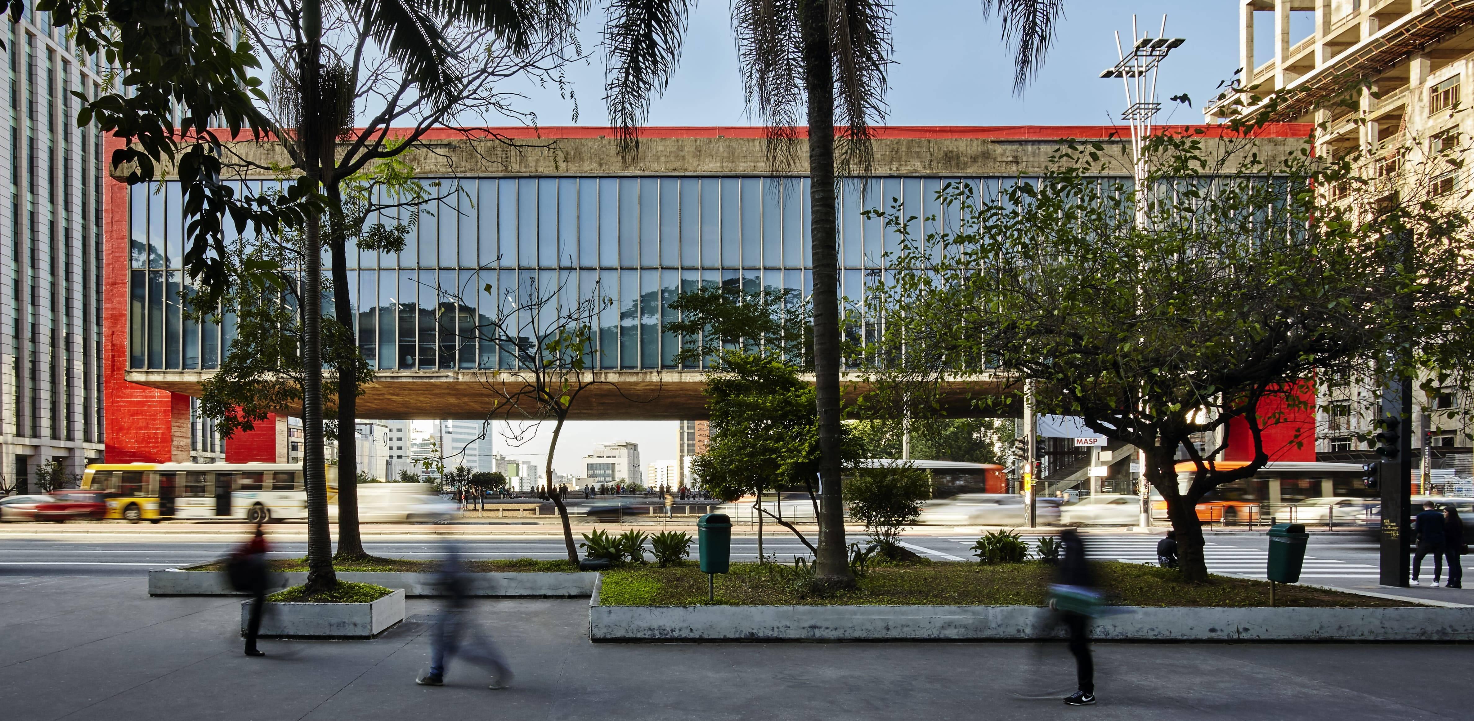 Avenida Paulista abriga o Museu de Arte de São Paulo (MASP). Foto: divulgação/Masp