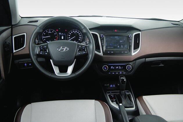 Hyundai Creta. Foto: Divulgação