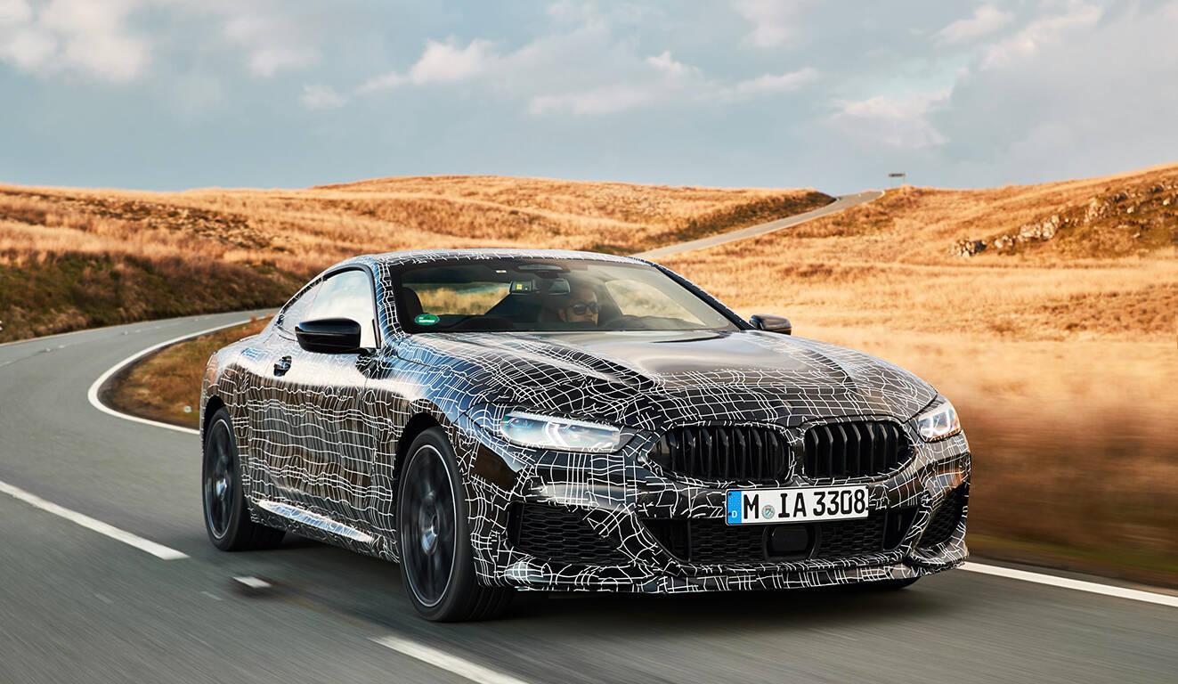BMW Série 8. Foto: Divulgação