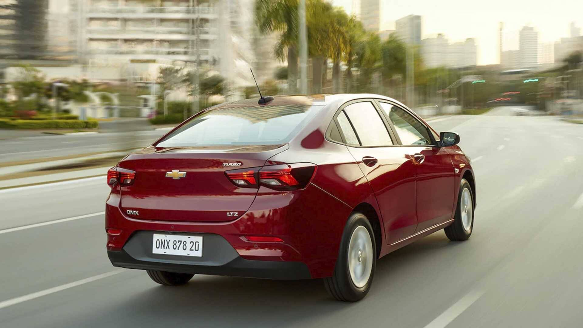 Chevrolet Onix Plus. Foto: Divulgação