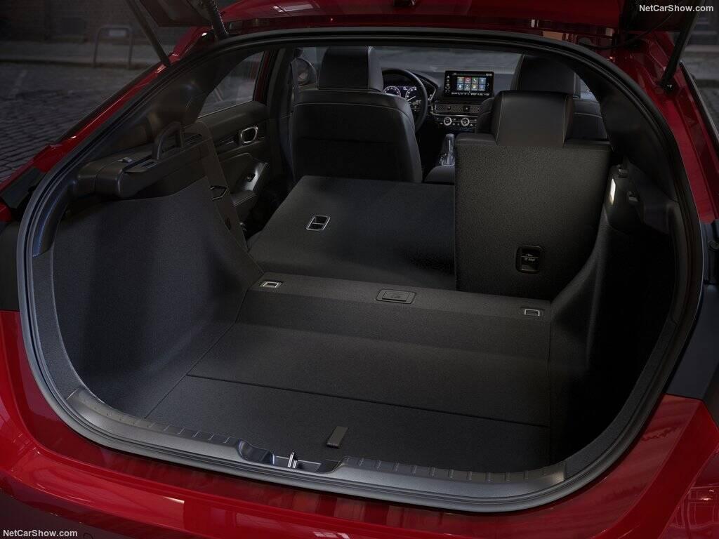 Honda Civic hatch. Foto: Divulgação