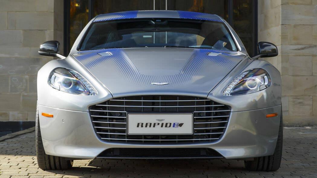 Aston Martin Rapide E. Foto: Divulgação