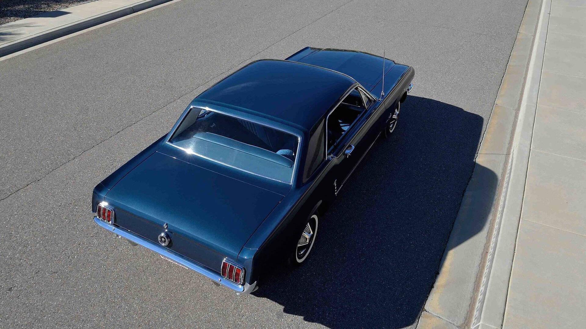 Ford Mustang. Foto: Divulgação