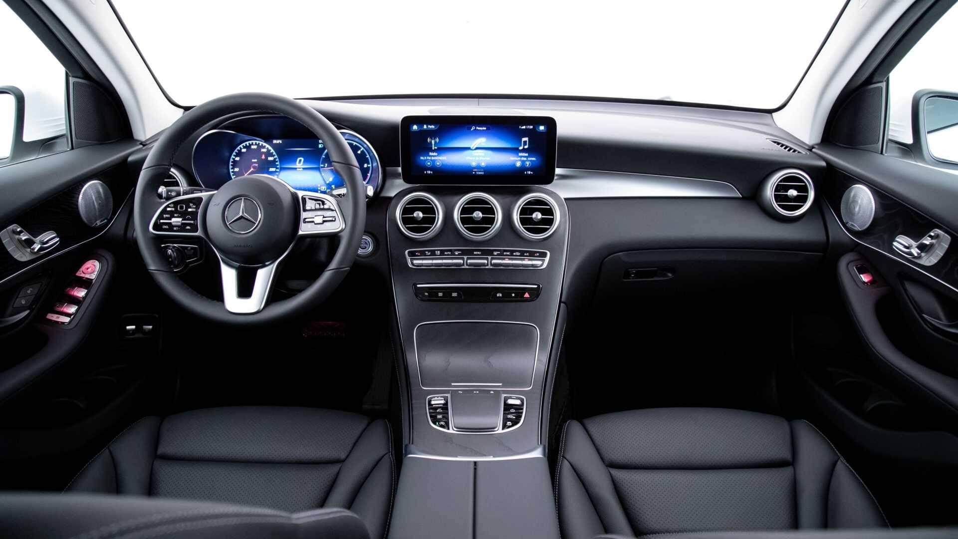 Mercedes GLC 220d. Foto: Divulgação