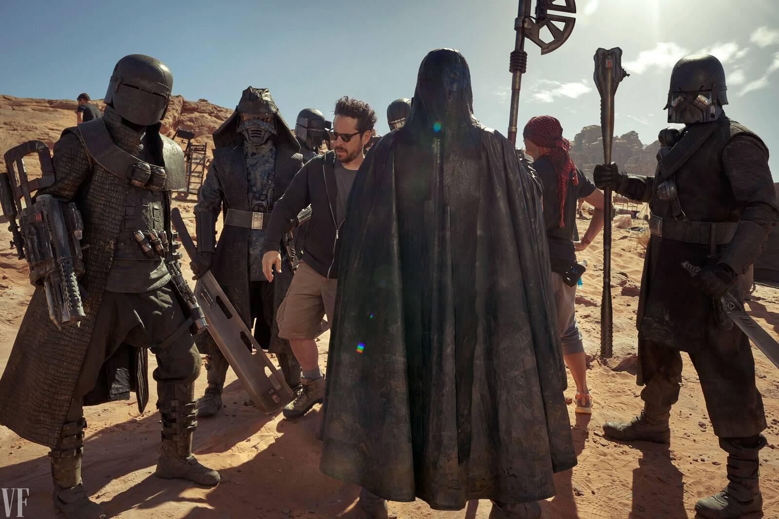 """Novas fotos de """"Star Wars: A Ascensão Skywlaker"""". Foto: Divulgação/Annie Leibovitz/Vanity Fair"""