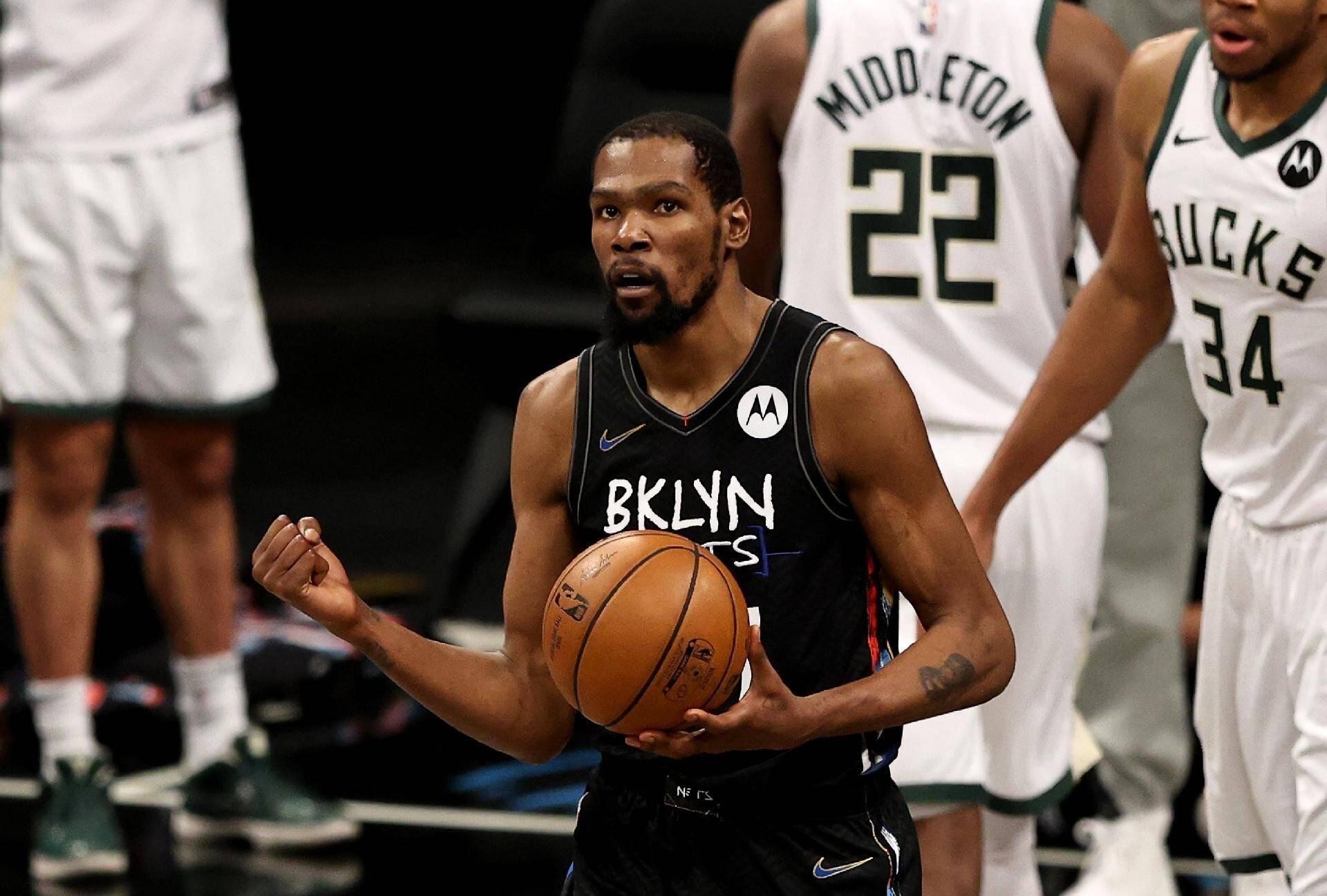 4 - Kevin Durant (Brooklyn Nets/NBA). Foto: Divulgação