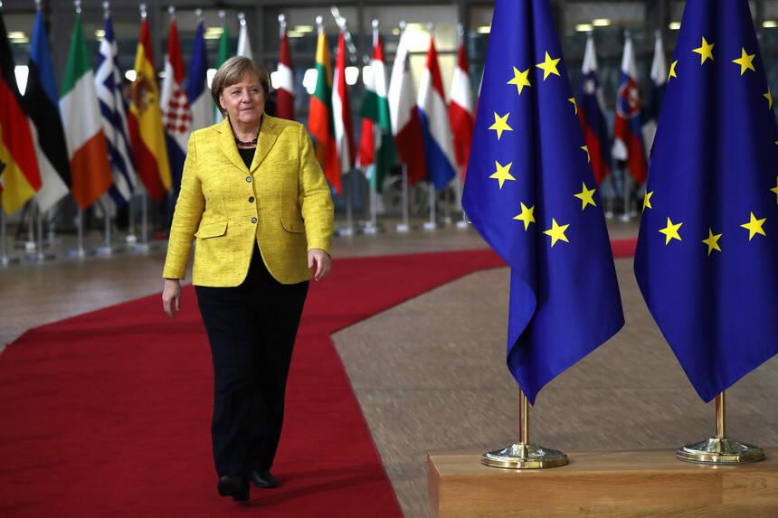 A chanceler alemã, Angela Merkel. Foto: Foto: Reprodução/Twitter