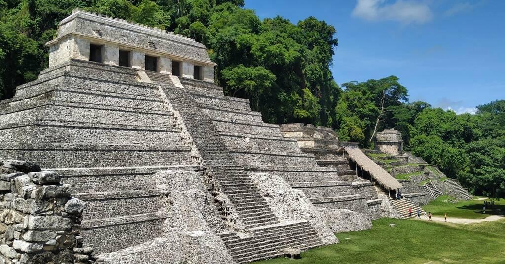 Ruínas Palenque, no México. Foto: Vida na Mala
