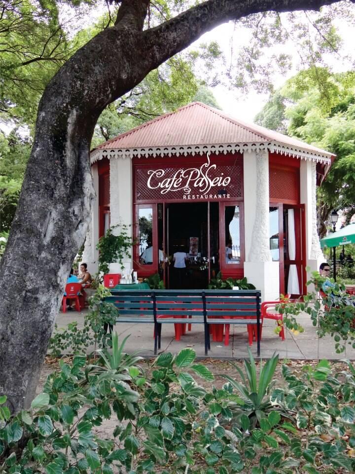 Café Passeio, localizado na região central de Fortaleza. Foto: Reprodução