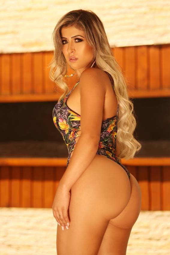Cida Alves, 28 anos, 103cm de bumbum, Minas Gerais, Modelo, atriz e empresária. Foto: Divulgação/CO Assessoria