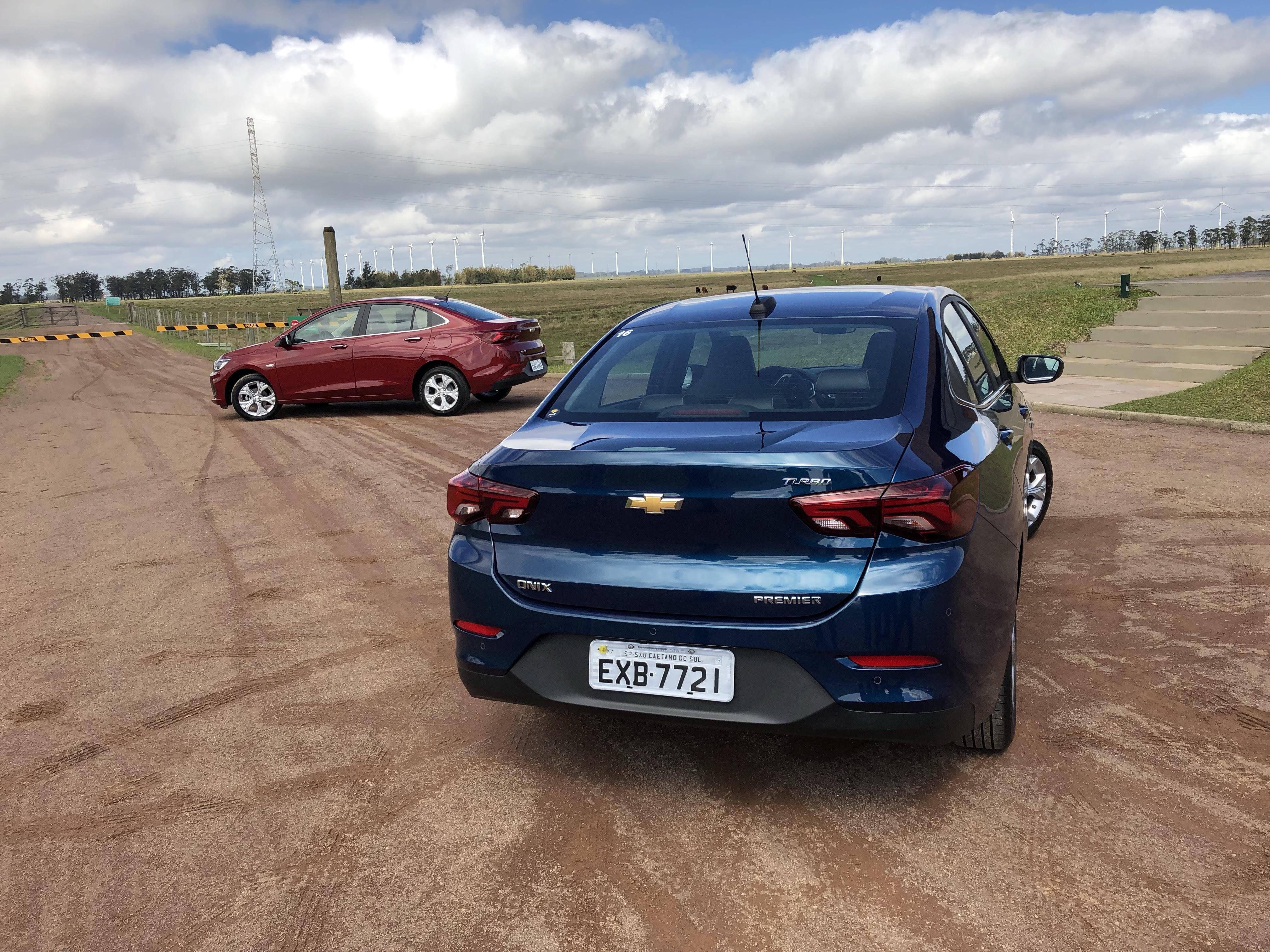 Chevrolet Onix Plus. Foto: Caue Lira/iG