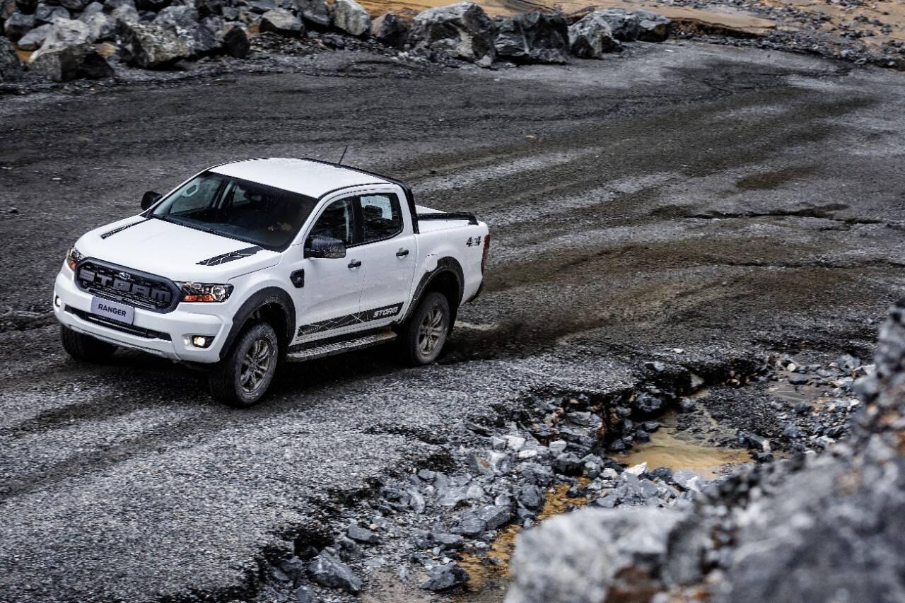 Ford Ranger Stormm. Foto: Divulgação