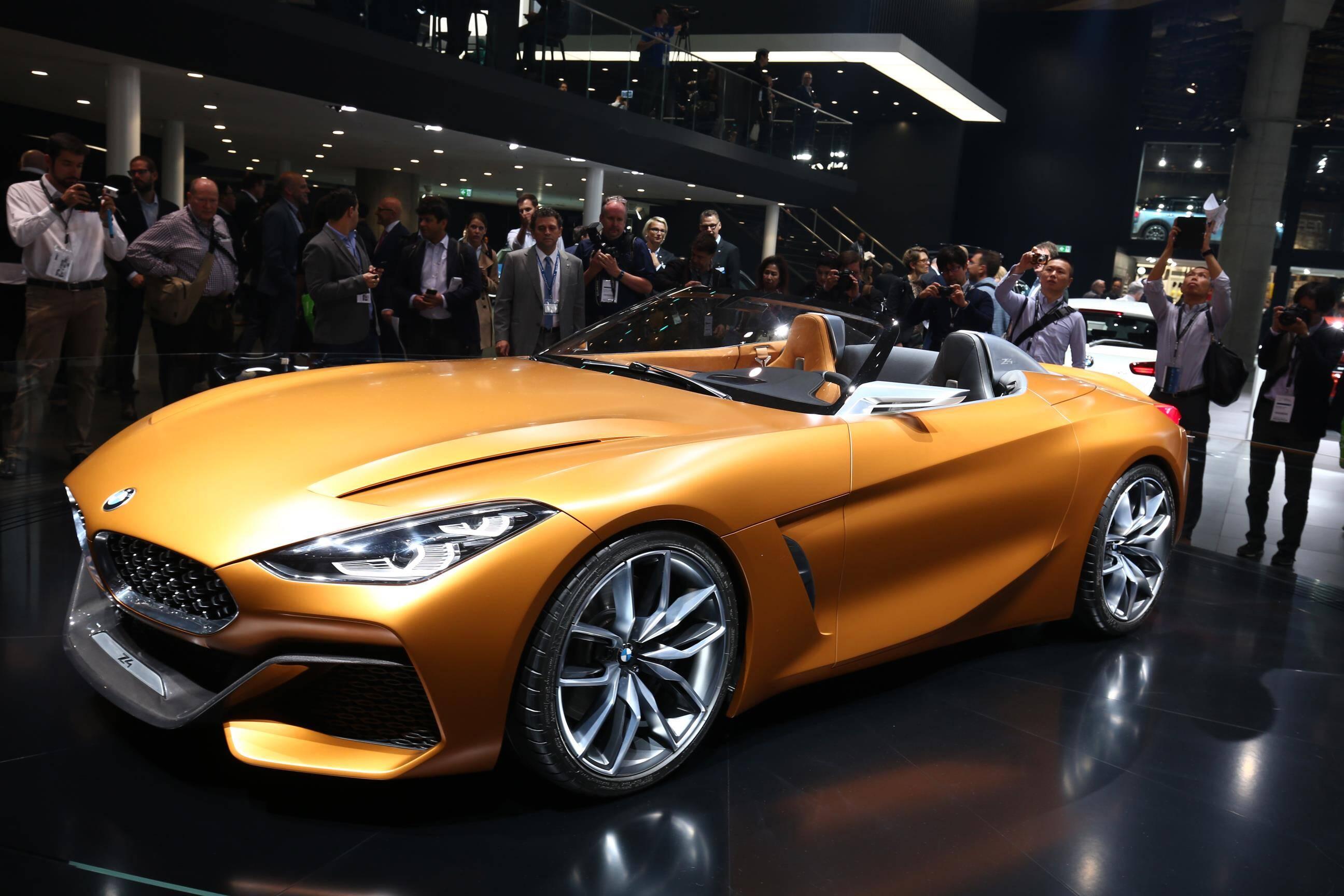 BMW Z4 Concept. Foto: Newspress