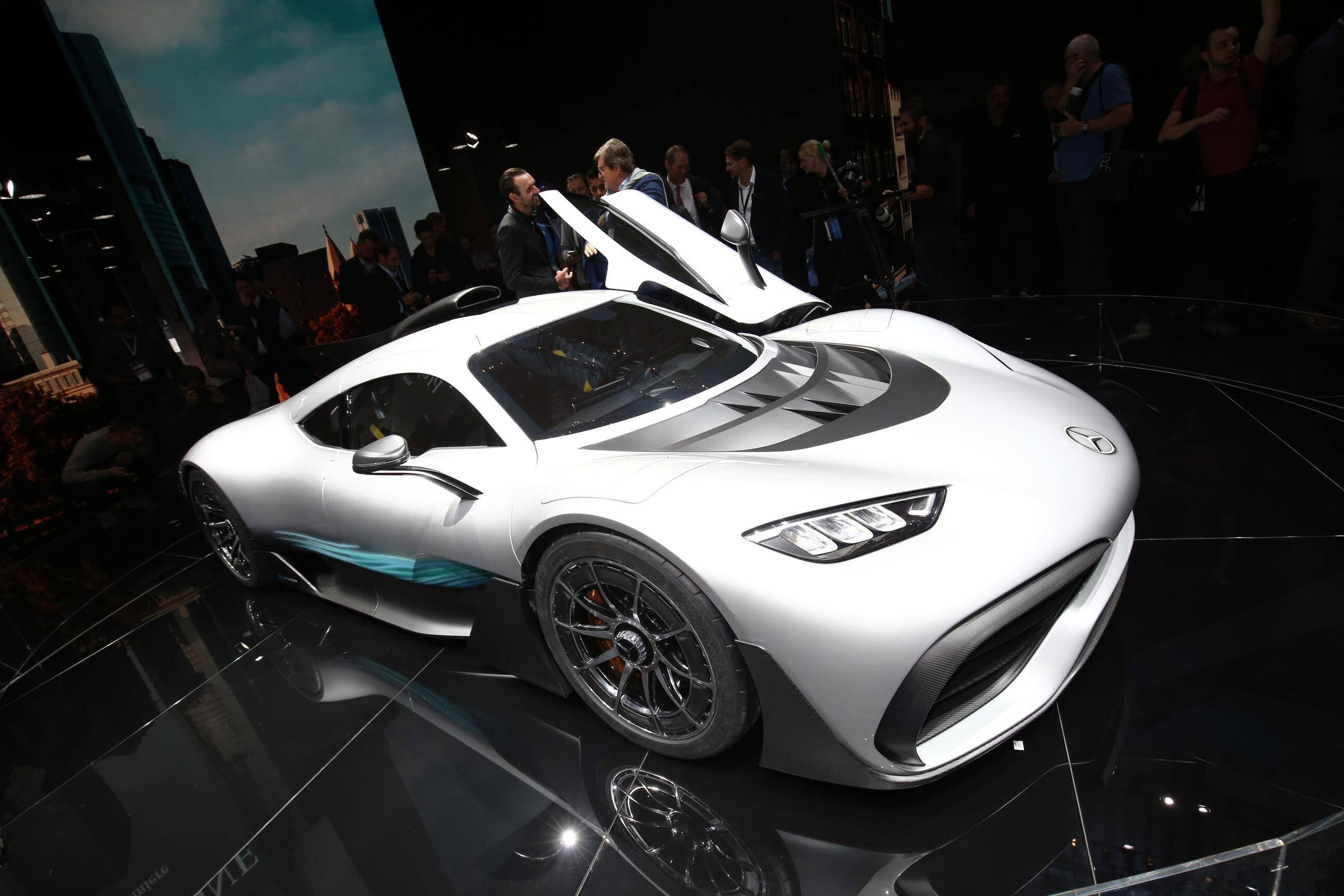 Mercedes-AMG PROJECT ONE. Foto: Newspress