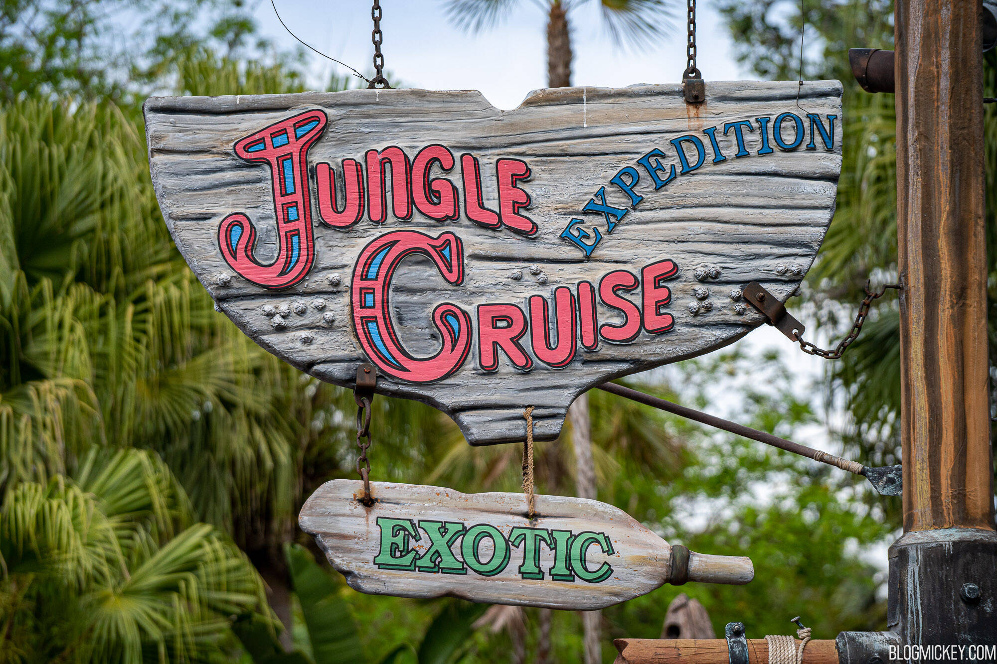 A atração Jungle Cruise foi criada em 1955 na Disney da Califórnia; desde então, é uma das atrações mais buscadas. Foto: Reprodução
