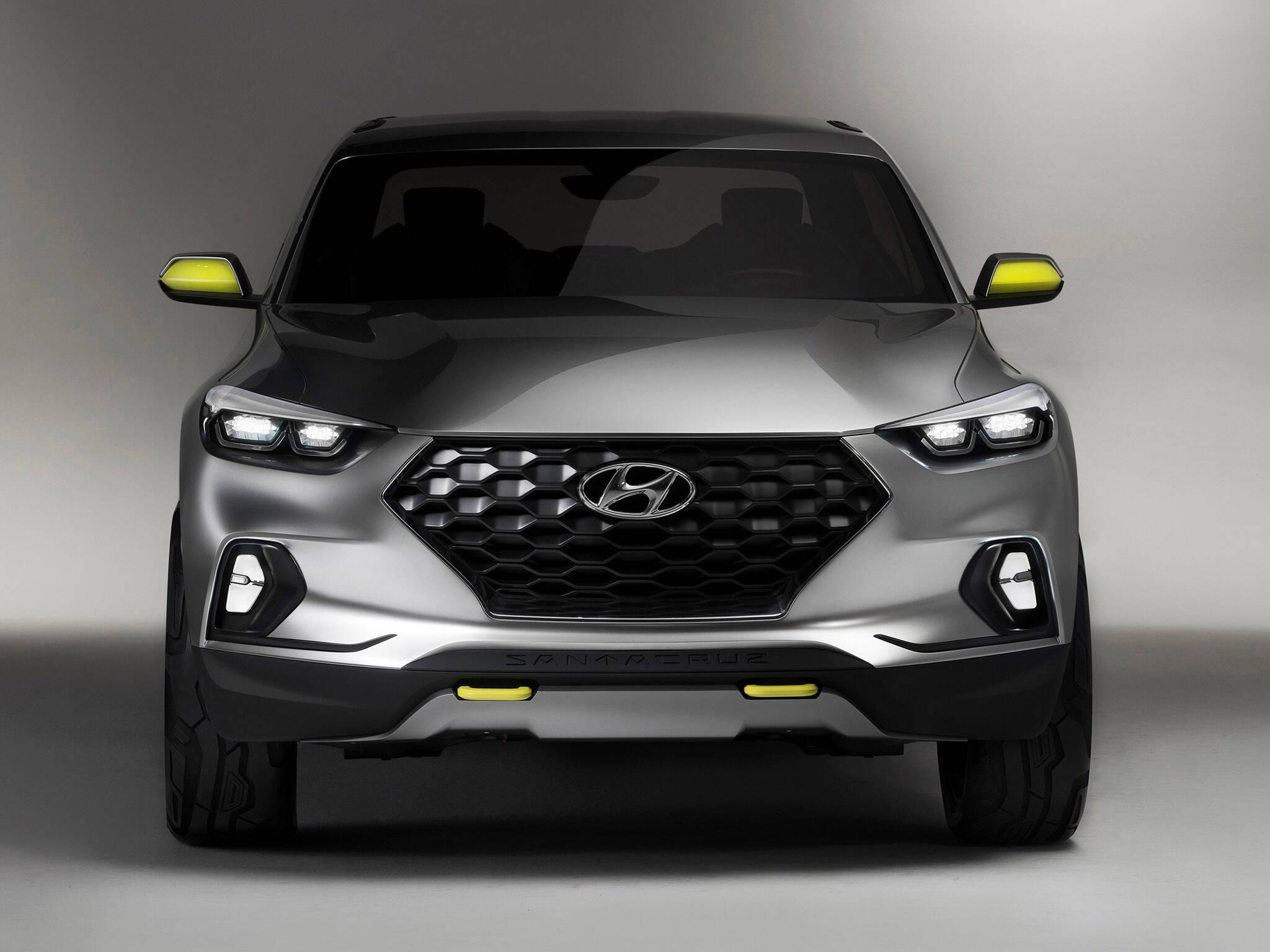 Hyundai Santa Cruz. Foto: Divulgação