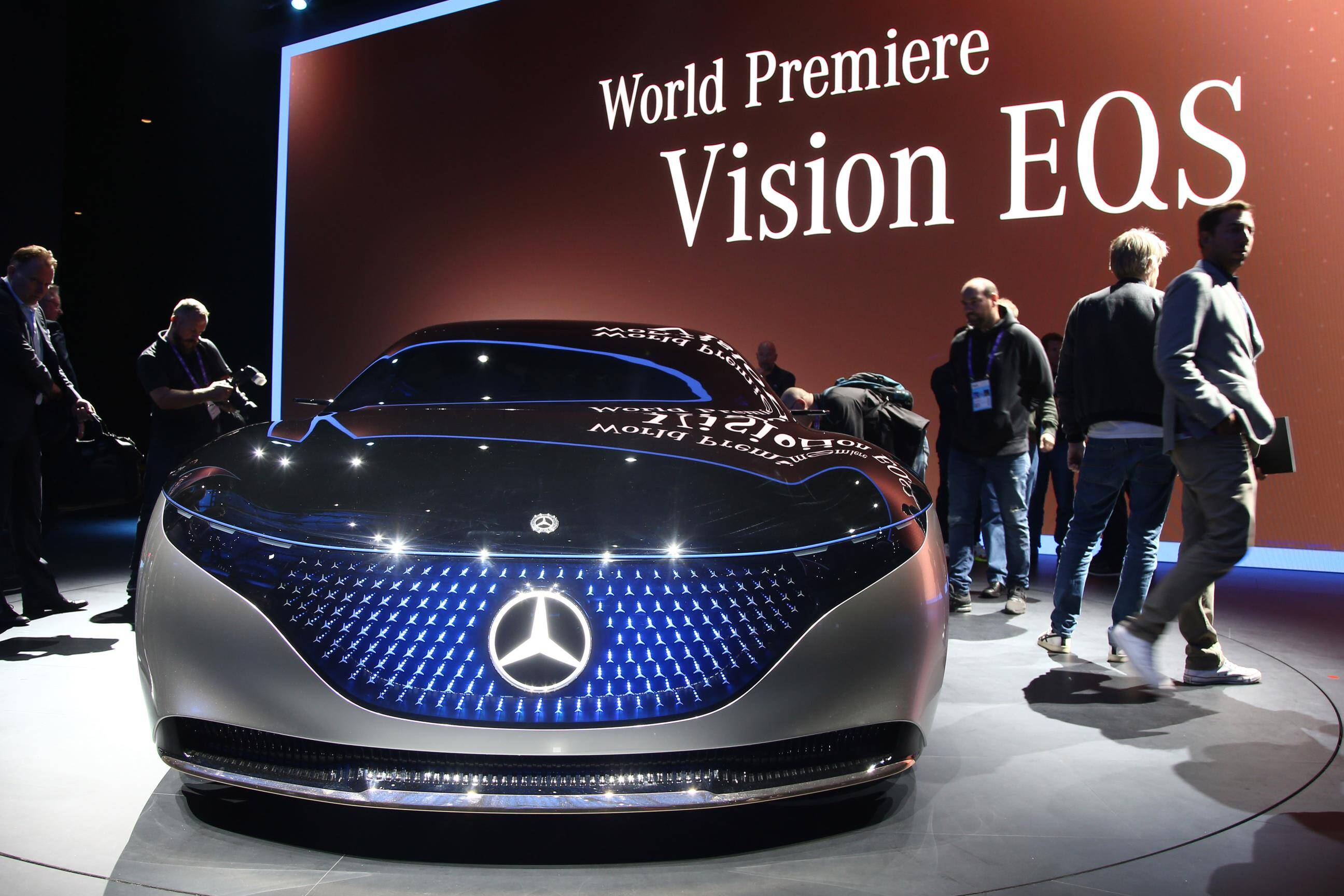 Mercedes Vision EQS. Foto: Newspress