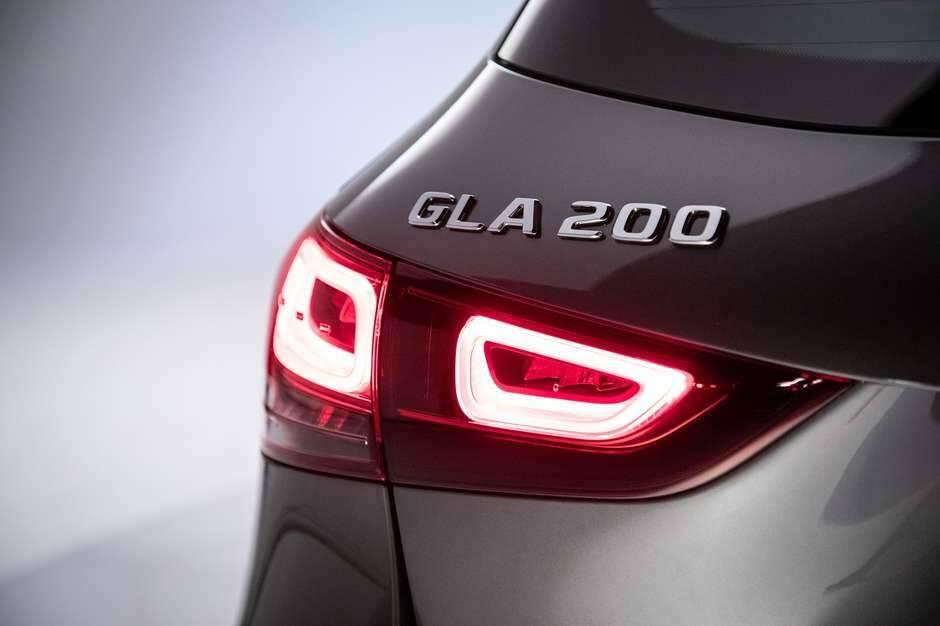 Mercedes GLA 200 AMG. Foto: Divulgação