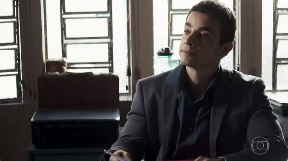 """Anderson Di Rizzi é Marcio em """"A Dona do Pedaço"""". Foto: Reprodução/Globo"""