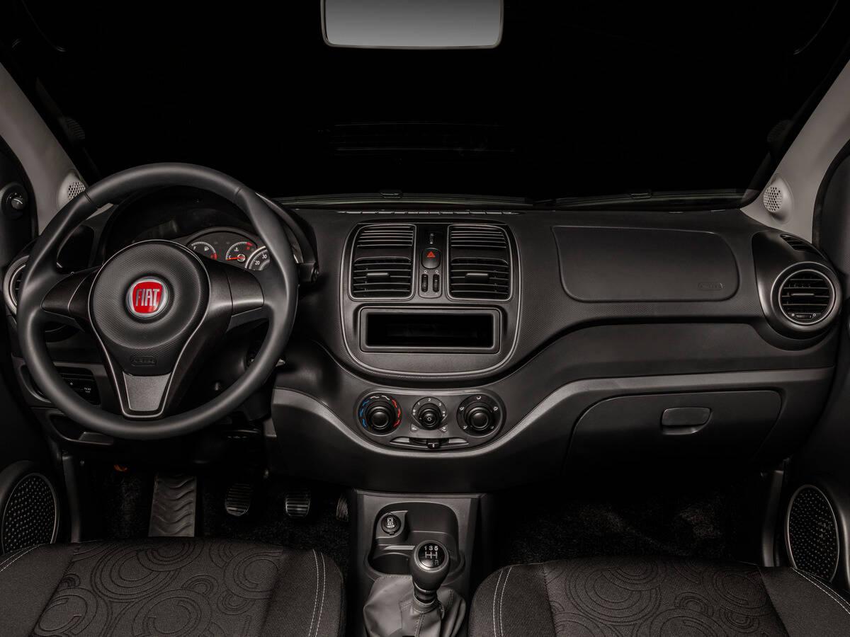 Fiat Grand Siena Attractive 1.0. Foto: Divulgação