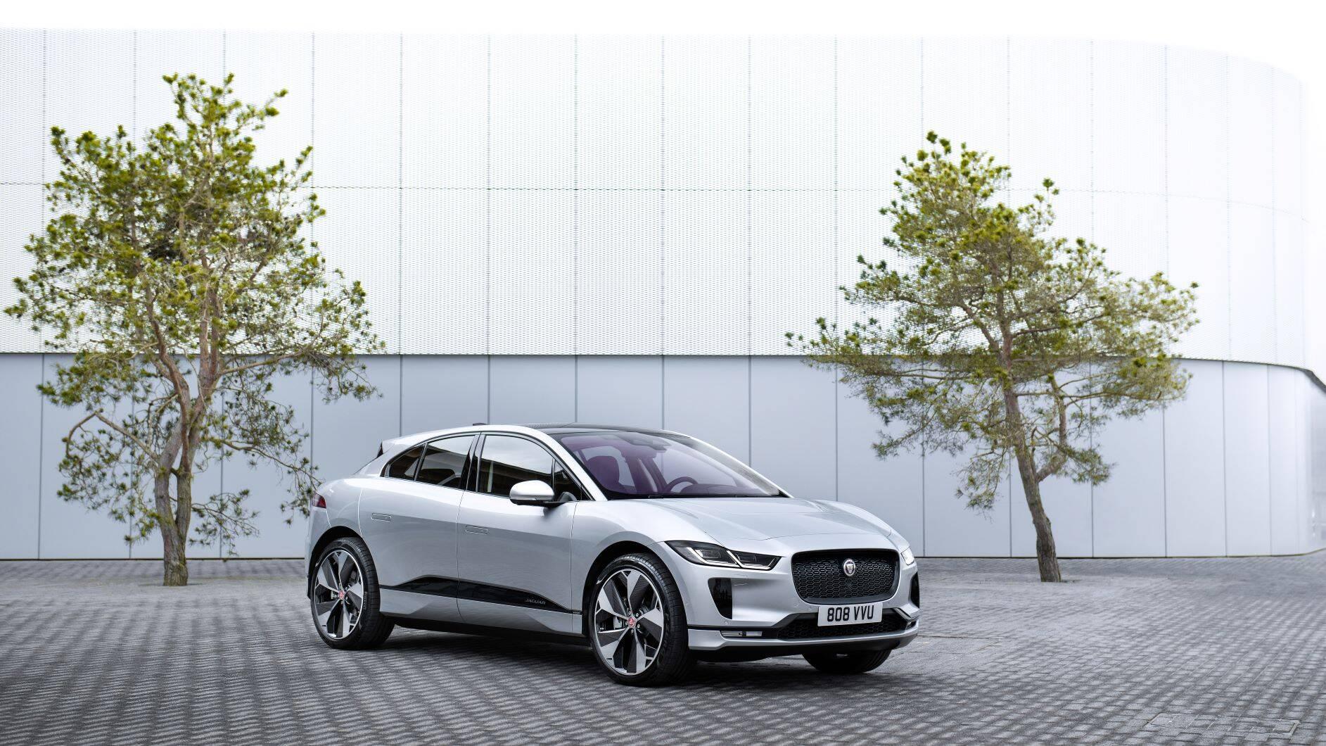 Jaguar I-Pace 2021. Foto: Divulgação