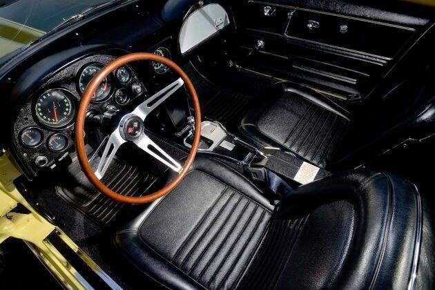 Chevrolet Corvette. Foto: Divulgação