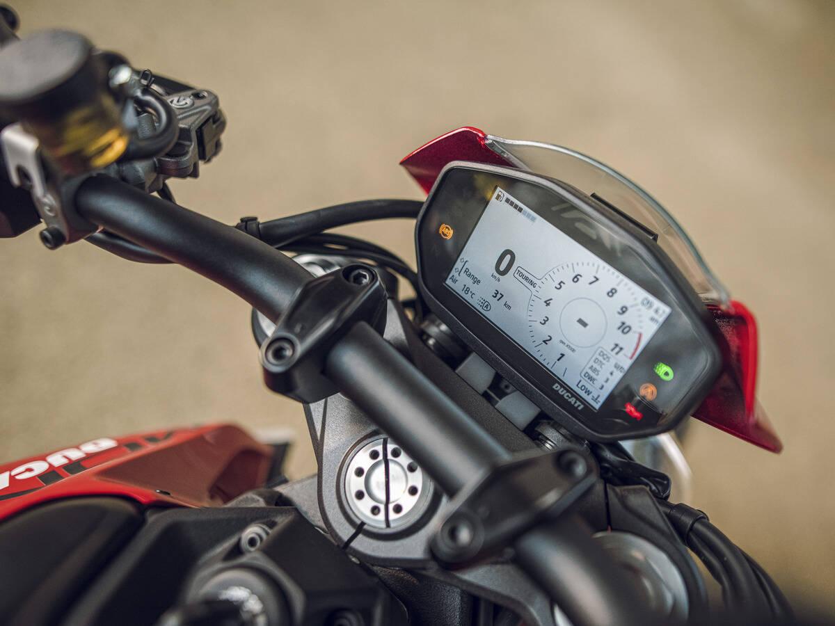 Ducati Monster Plus 2021. Foto: Divulgação