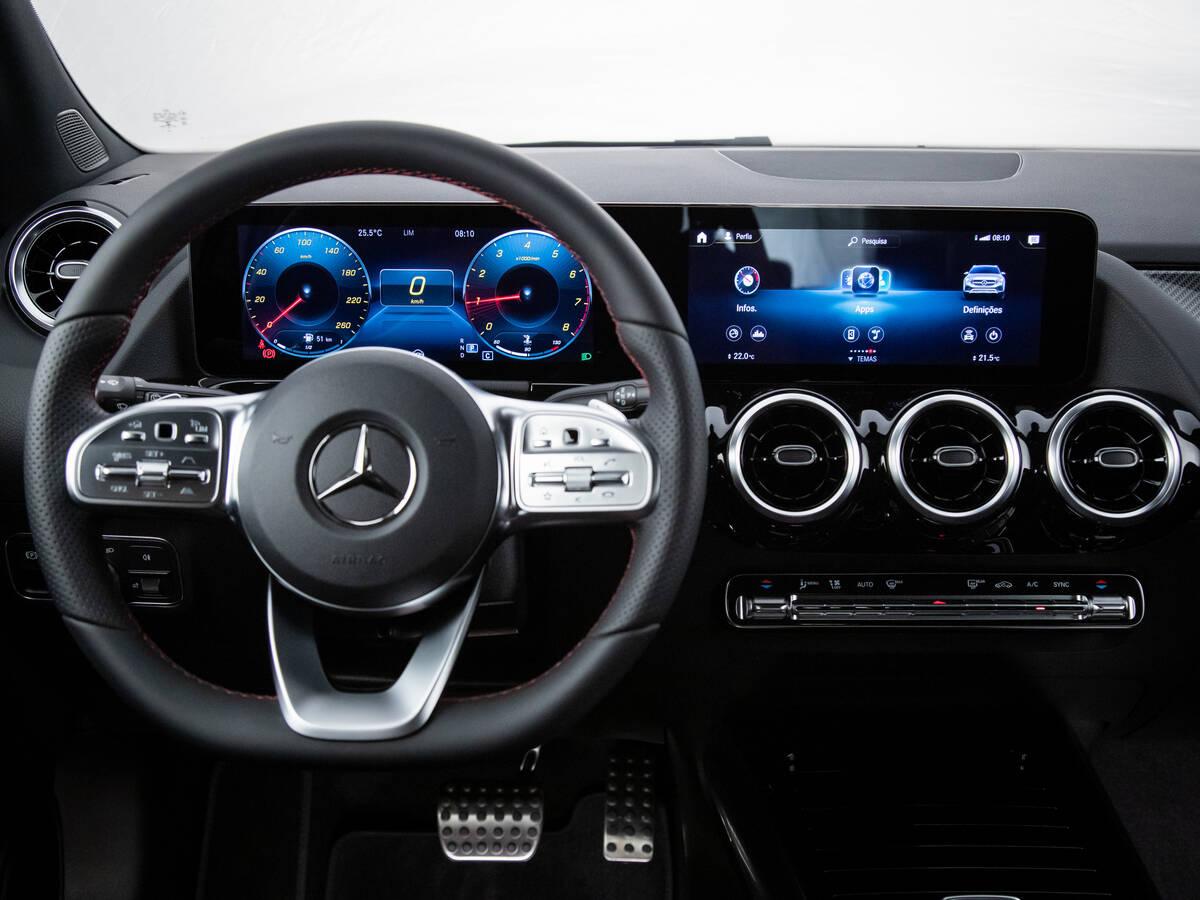 Mercedes GLA 200 AMG Line. Foto: Divulgação